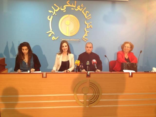 صور الندوة التلفزيونية للمركز الثقافي للإعلام موضوع العنف الأسري